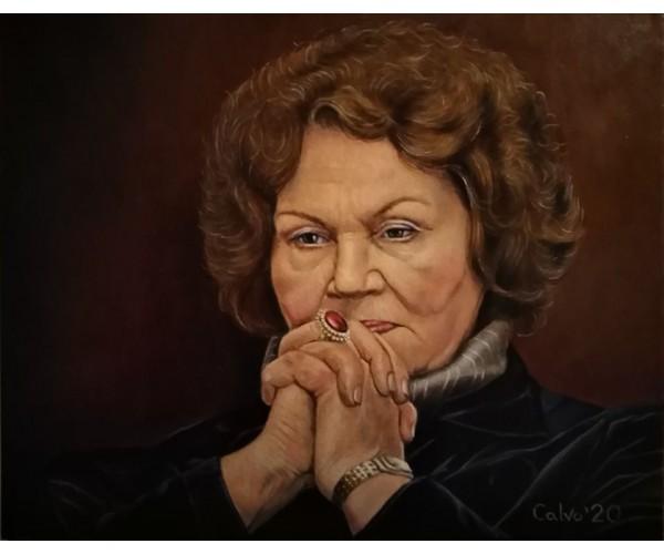 Портрет Лины Костенко художника Андрея Коноваленко (CALVO)