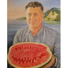 "Портрет ""Валентин с арбузом"""